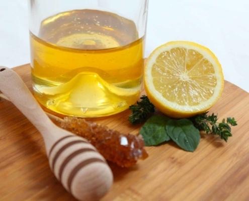 Tisana salvia limone e miele